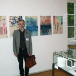 Prof. Kestutis Vasiliunas in the Artist's Book Triennial in Bentlage