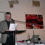 Kestutis Vasiliunas give the lecture