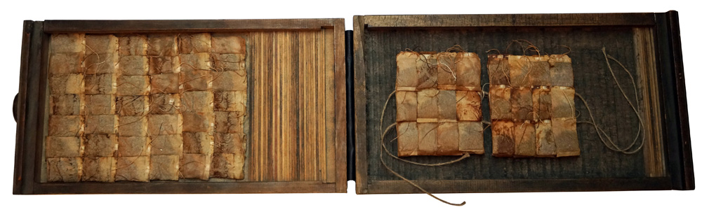 "Kestutis Vasiliunas. Artists Book-Object. ""Tea Book No 3"". 2013"