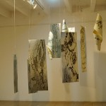 Carol Smith. Intaglio. Installation with prints and plates