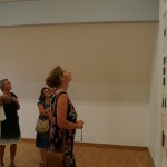 In the exhibition of Brigitte
