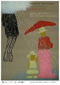 Kestutis Vasiliunas. Solo Exhibition. Poster