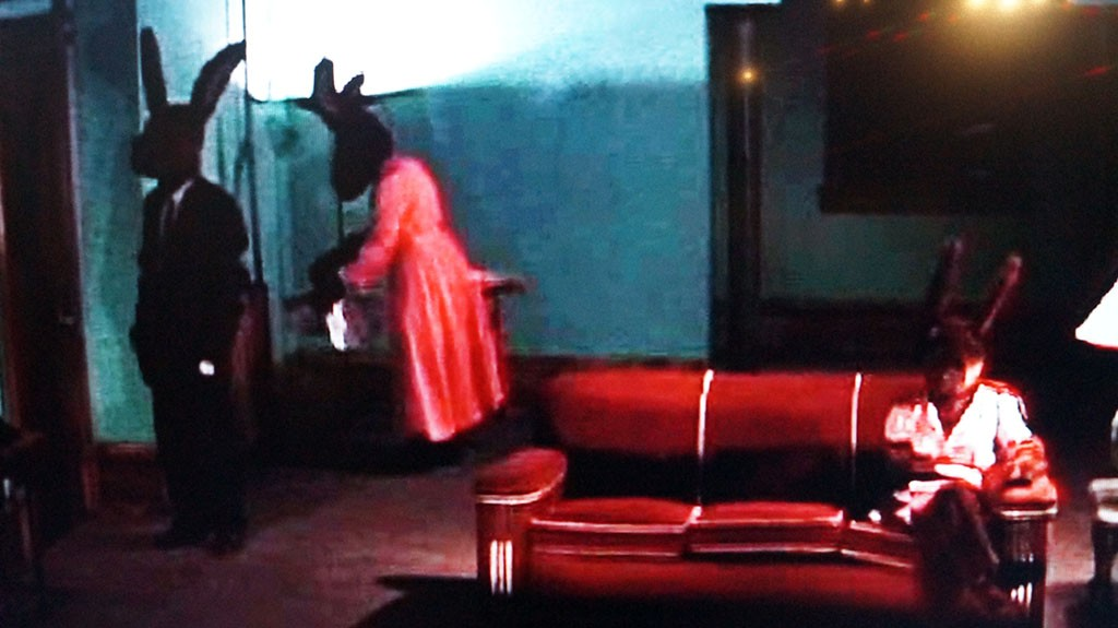 "David Lynch. Move ""Rabbits"". 2002"