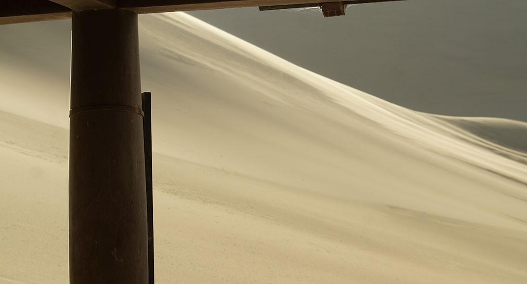 Desert in Dunhuang