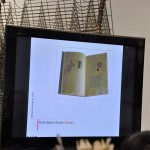 Artist's book lecture in the Tokyo University of the Arts
