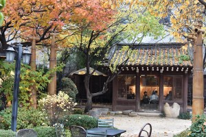 Traditional tea house in Seoul