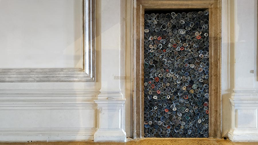 "Jannis Kounellis. ""Untitled"". 2014"
