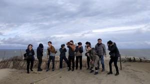 In Grey Dunes in Juodkrante was big sand storm...