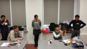 Printmaking workshop from Tokyo