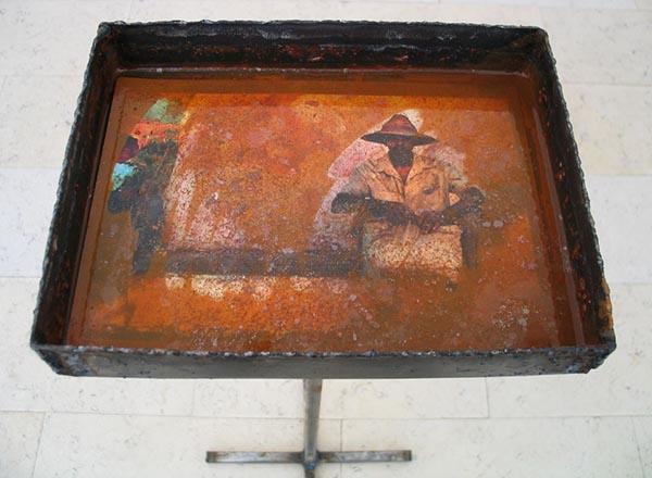 Kestutis-Vasiliunas-Printmaking-Installation-2009-1