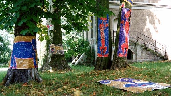 Kestutis-Vasiliunas-Printmaking-Installation-Wiepersdorff-1994