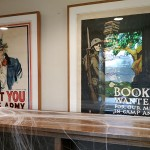 WWI posters in the Patterson Library