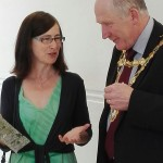 Deirdre Kelly with Mayor of Galway