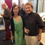 Deirdre Kelly with Sioban Piercy artist founder of Impressions