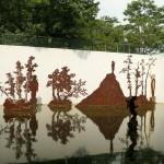 China Printmaking Museum, installation of Kang Jianfei