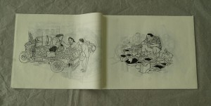 "Artist's Book ""The town of Botang"""