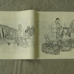 """Artist's Book """"The town of Botang"""""""