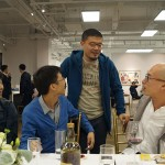 One of the best printmakers - Kang Jianfei - standing