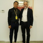 With the director of the workshop Mr. Li Yingxu