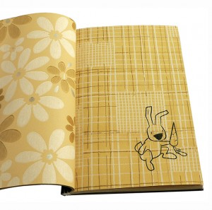 "Lennart Mand ""All about rabbits without leaving the house"". 2006, print on wall paper"
