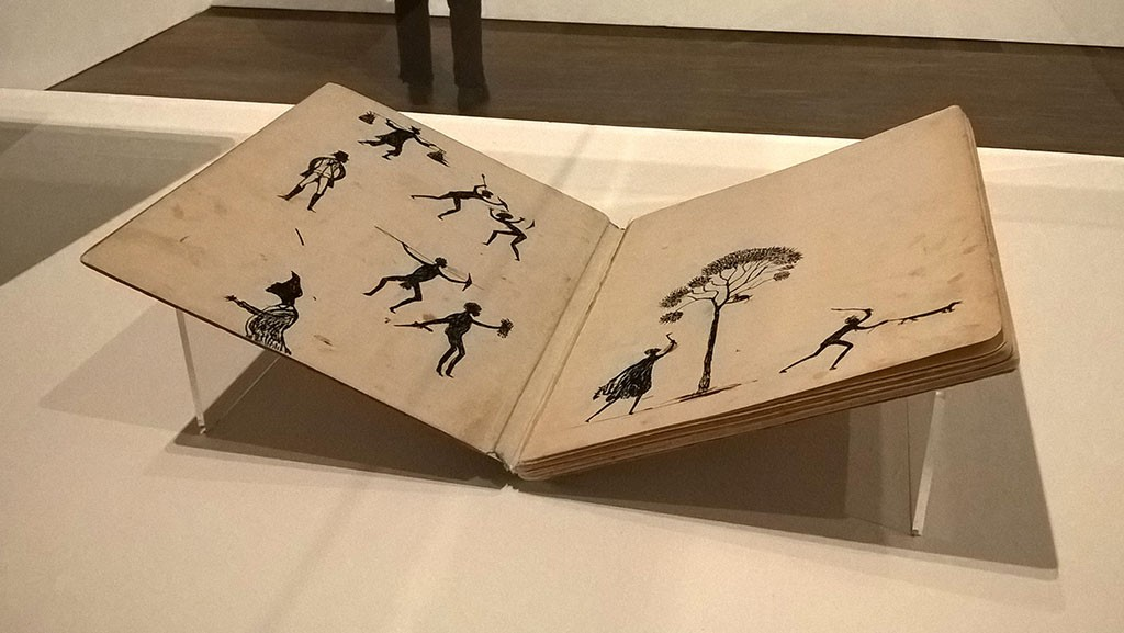 "Tommy McRae ""Sketchbook of Aboriginal ceremonies..."". 1880, drawings with pen and ink"
