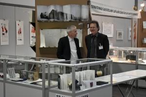 Curator Kestutis Vasiliunas & IAKH-Direktor Jost Braun