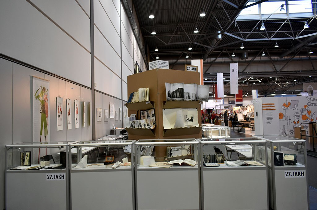 8th Artist's Book Triennial in Leipzig Book Fair 2018