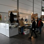 Installing the 8th Artist's Book Triennial in Leipzig Book Fair 2018