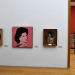 Andy Warhol in strange company in the Museum der bildenden Künste Leipzig