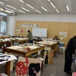 Woodblock workshop
