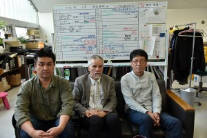 With Prof. Toshiya Takahama and Prof. Ryuta Endo