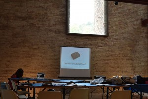 Lecture in Data, in Urbino