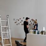 Installing the Artist's Book Triennial - Raminta Sum