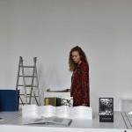 Installing the Artist's Book Triennial - Agota Afra