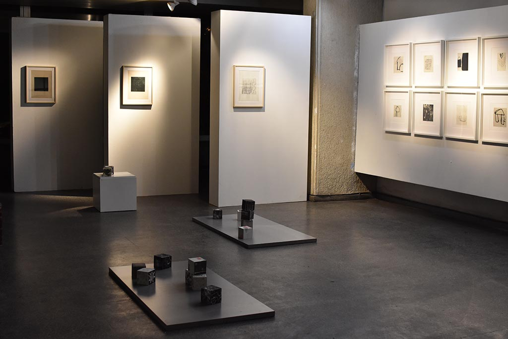 "Exhibition of the Prof. Toshiya Takahama and students works in the Gallery ""5 Malūnai"""
