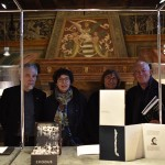 With artists Carolyna, Catherine Bolle, Roberto Gianinetti and Mario Lo Coco