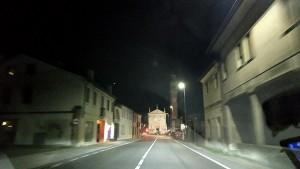 At night near Padua