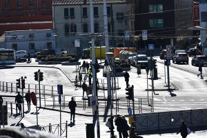Piazzale Roma in Venice