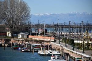 Alps from Venezia