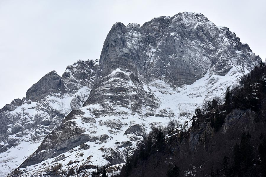 """View from the """"Passo Monte Croce Carnico"""""""
