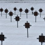 Heroes' cemetery in the Alps