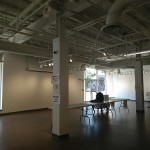 Evanston Art Center, the Gallery space