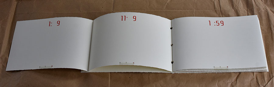 artist's book catalogue
