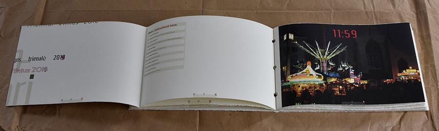 artist's book catalogue