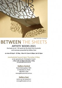 Between the Sheets: Artists' Books Exhibition in Australia 2021